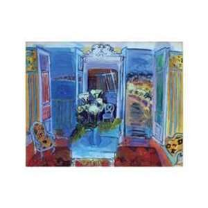 with the Window Open by Raoul Dufy 39x28