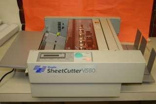 Duplo V580 Cut Sheet Cutter / Forms Burster