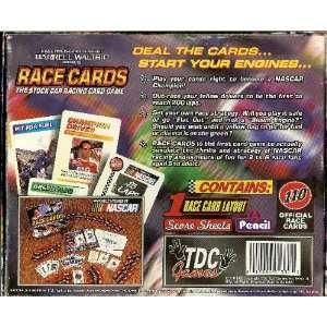 Race Cards Stock car racing card game Toys & Games