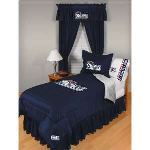 New England Patriots NFL Locker Room Collection Complete Bedding Set