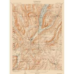 USGS TOPO MAP NAPLES QUAD NEW YORK (NY) 1903 Home