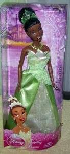 Disney Sparkling Princess **TIANA** Doll New 027084927306