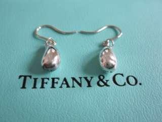Tiffany & Co. Sterling Silver Elsa Peretti Teardrop Earrings