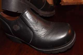 Harley Davidson Shoe Boot 6.5 Black Leather Motorcycle