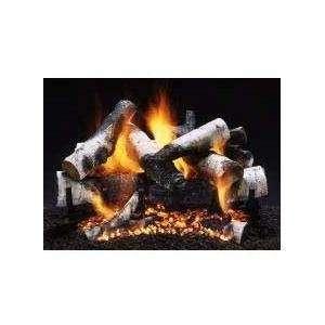 Firegear 18 inch Old Man Birch Vented Propane Gas Log Set