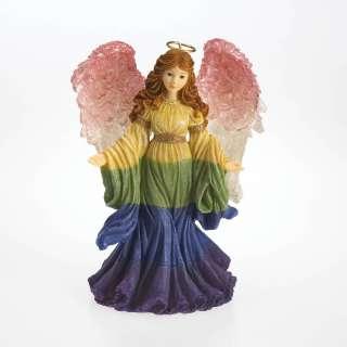 Charming Angel GWENETH GUARDIAN ANGEL OF GOOD FORTUNES  RAINBOW 1E