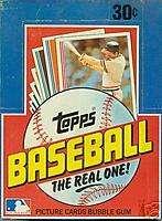 1982 Topps Wax Box (36) Packs Poss. Ripken RC