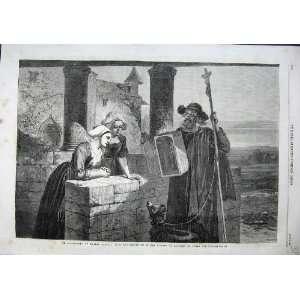 1863 Le Reliquaire Walter Goodall Man Toy Box Women Dog