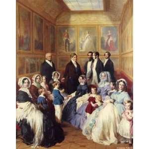 Queen Victoria and Prince Albert with the Family of King