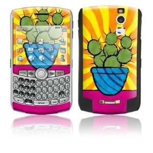 Prickly Pear Design Protective Skin Decal Sticker for Blackberry Curve