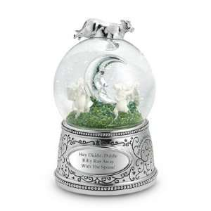 Personalized Cow & Moon Snow Globe Gift