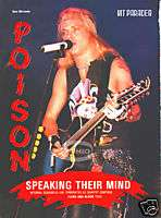 BRET MICHAELS PINUP hair metal 80s 90s POISON