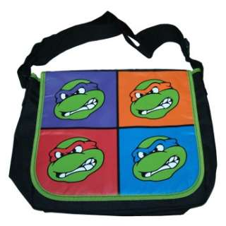 Teenage Mutant Ninja Turtles TMNT Cast Warhol Messenger Bag