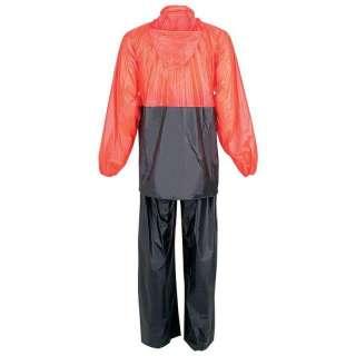 Diamond Plate Motorcycle Rain Suit   Waterproof   Lightweight Jacket