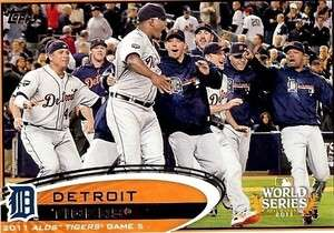 2012 Topps Series 1 #32 Detroit Tigers