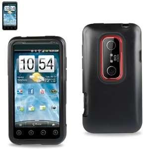 Case for Sprint HTC EVO 3D (EVO3D Hybrid Black Red)