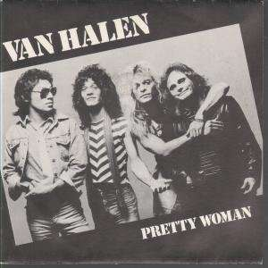 PRETTY WOMAN 7 INCH (7 VINYL 45) FRENCH WARNER BROS VAN HALEN Music