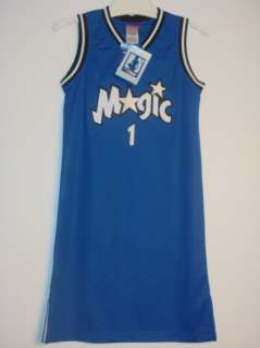 NEW NBA Orlando Magic Jersey Dress McGrady # 1 S M L XL
