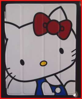 new new leather smart case cover stand hello kitty companion for ipad