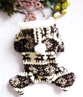 dog pet cat clothing coat fleece warm jumper up04