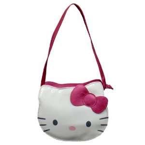 Hello Kitty Face Die Cut Head Purse Bag