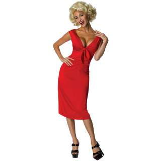 Marilyn Monroe Niagara Red Dress Adult Costume