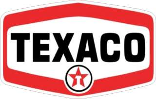 Vintage Texaco Gas Oil Gasoline Decal   The Best