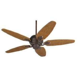 52 Casa Optima™ Honey Rattan Blades Ceiling Fan Home Improvement