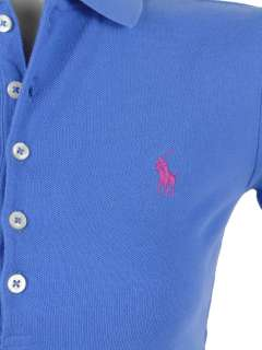 NEW NWT POLO RALPH LAUREN SPORT DRESS SOLID COLOR PONY MESH COTTON