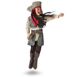 Pirate Captain Jack Sparrow Costume for Boys   Toddler