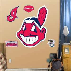 Cleveland Indians Logo Fathead Wall Decal