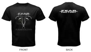 Fear Factory Mechanize Metal Band Black T Shirt S L 3XL