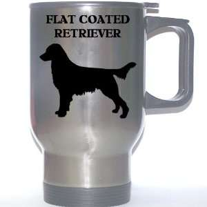 Flat Coated Retriever Dog Stainless Steel Mug