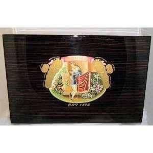JULIETA HUMIDOR 109/1000 Masterpiece W 13 1/4, L 21 1/2, H 6
