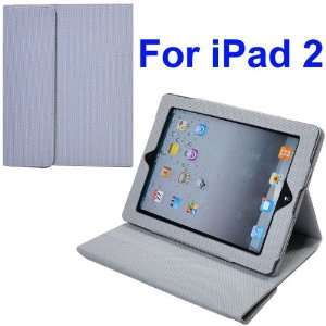 Smart Cover Stand Leather Case for iPad 2(Grey)