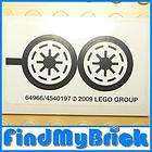 F292B Lego Star Wars Clone Wars Republic Logo Sticker