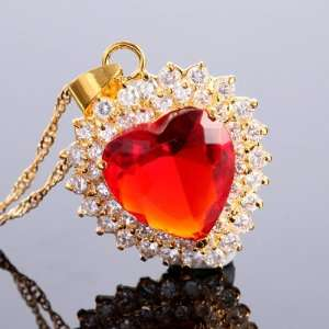 RUBY PERFECT LADY HEART ROUND LOVE GIFT CUT RED RUBY GEM