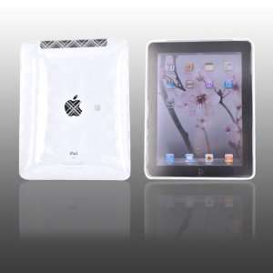 for Apple iPad Silicone Case PLAID TRANSPARENT CLEAR