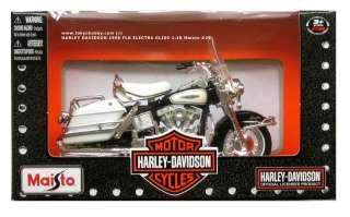 HARLEY DAVIDSON 1966 FLH ELECTRA GLIDE 118 Maisto #29