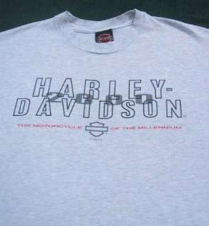HARLEY DAVIDSON MOTORCYCLES palm springs LARGE T SHIRT