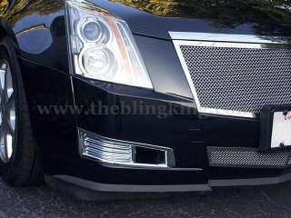 2010 Cadillac CTS chrome fog light cover bezels trim 07 08 09