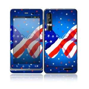 Patriotic Butterfly Design Decorative Skin Cover Decal