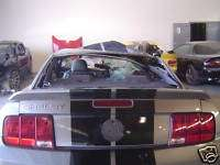 05 09 Ford Mustang Shelby GT500 Coupe OEM Silver Trunk Lid & Spoiler