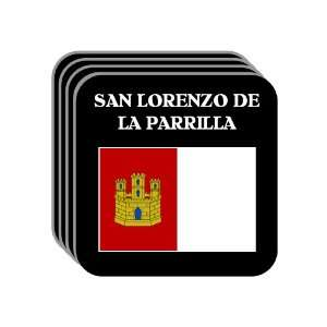Mancha   SAN LORENZO DE LA PARRILLA Set of 4 Mini Mousepad Coasters