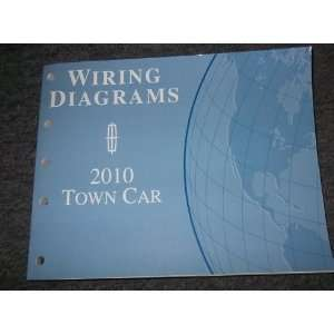 2010 Lincoln Town Car Wiring Electrical Service Manual ford Books