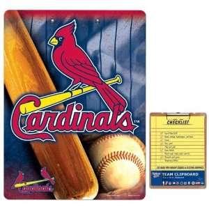 St. Louis Cardinals Team Logo Clipboard