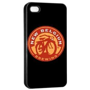 Fat Tire Beer Logo Case for Iphone 4/4s (Black) Free