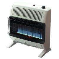 Mr. Heater 30,000 BTU Propane Blue Flame Vent FreeHeater, VF30KBLUELP
