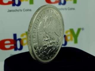 Cn. A.M. Silver Coin, Mexico Peso Fuerte Porfiriano WOW KM#409