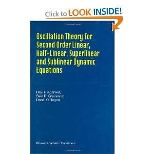 Oscillation Theory for Second Order Linear, Half Linear